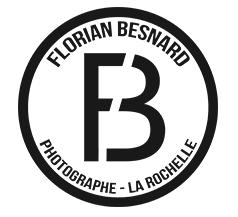 logo Florian Besnard, photographe à la Rochelle