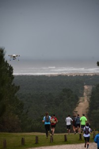 drone trail