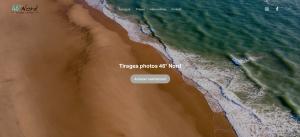 Capture d'écran site tirages photos
